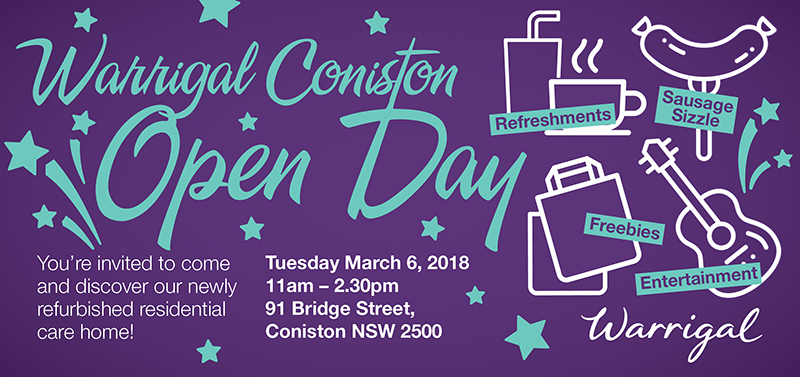 Coniston Open Day email
