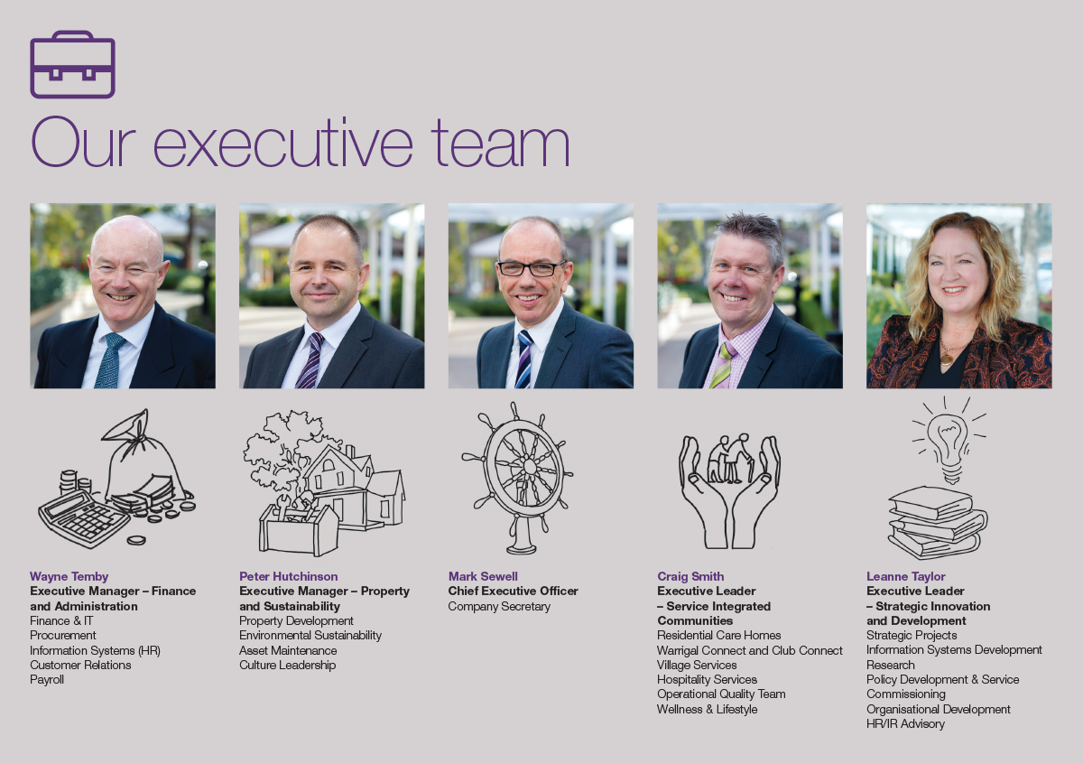 Warrigal ExecutiveTeam